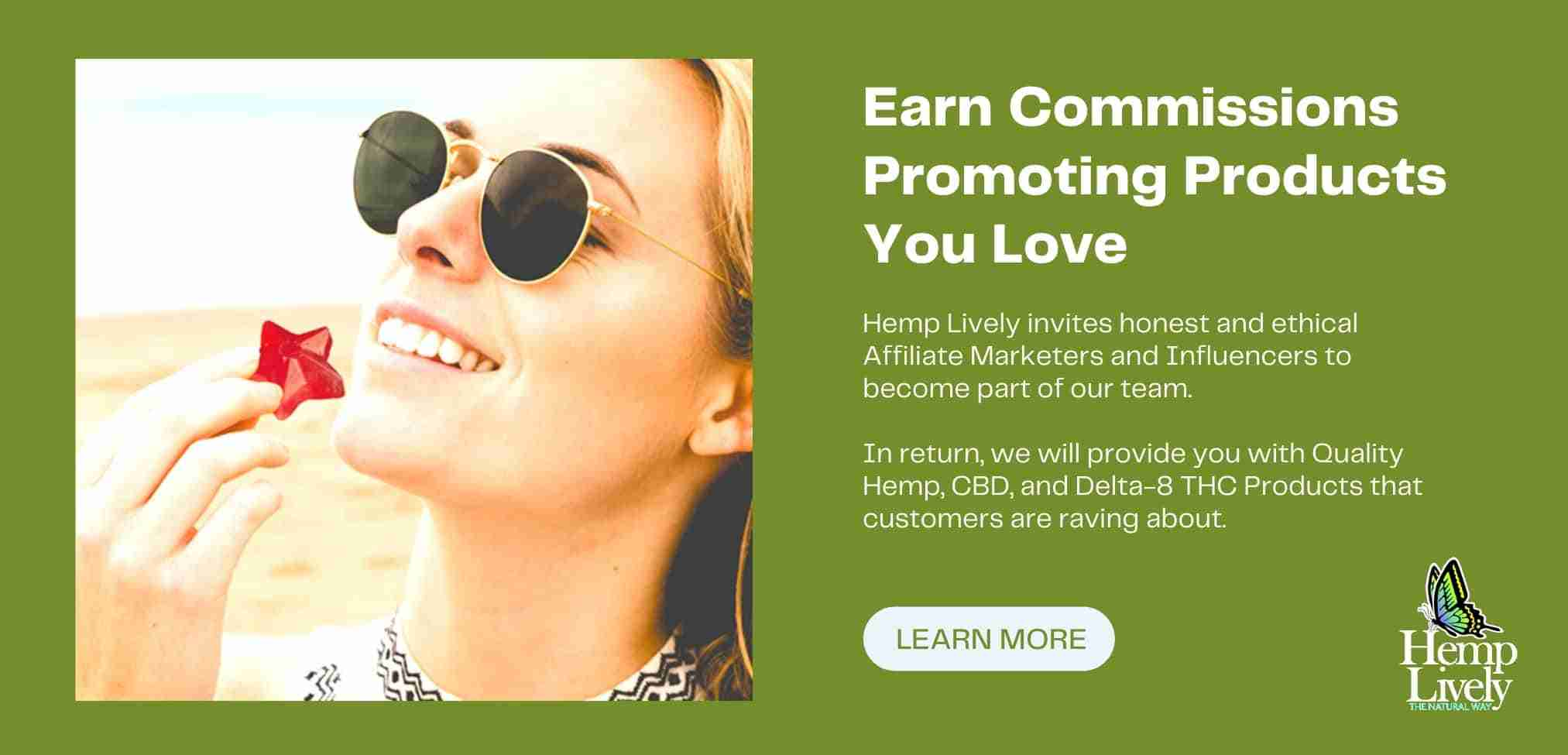 Earn Commissions Promoting Proucts You Love