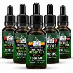 Broad Spectrum Hemp Oil Sampler Pack Fruit