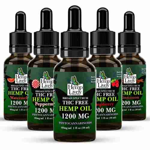 Broad Spectrum Hemp Oil Sampler Pack Variety