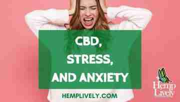 CBD Stress and Anxiety Blog Banner