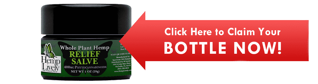 Click Here to Claim your bottle now Whole Plant Hemp Relief Salve