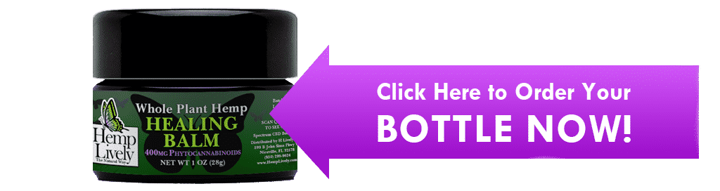 Click Here to order your bottle now Whole Plant Hemp Healing Balm