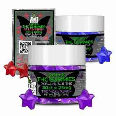 Hemp Lively Delta 8 THC Gummies