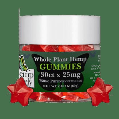 Hemp Lively Whole Plant Hemp Gummies Stars 30ct x 25mg 1
