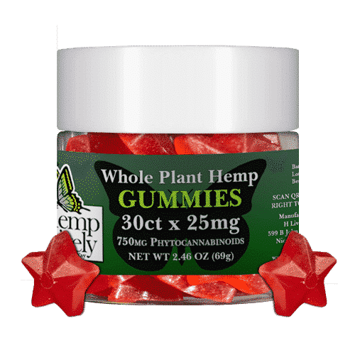 Hemp Lively Whole Plant Hemp Gummies Stars 30ct x 25mg 1