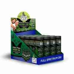 Hemp Lively Whole Plant Hemp Oil 12 pack POP Box