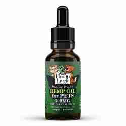 Hemp Lively Whole Plant Hemp Oil for Pets 300mg Phytocannabinoids 30ml 10mg per ml 1