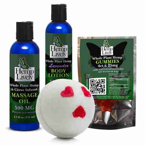 Whole Plant Hemp Date Night Lovers Pack