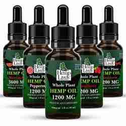 Whole Plant Hemp Oil Sampler Pack Variety