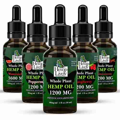 Whole Plant Hemp Oil Sampler Pack Variety
