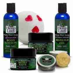 Whole Plant Hemp Skin Care Sampler Pack 1