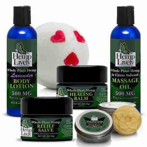 Whole Plant Hemp Skin Care Sampler Pack 1