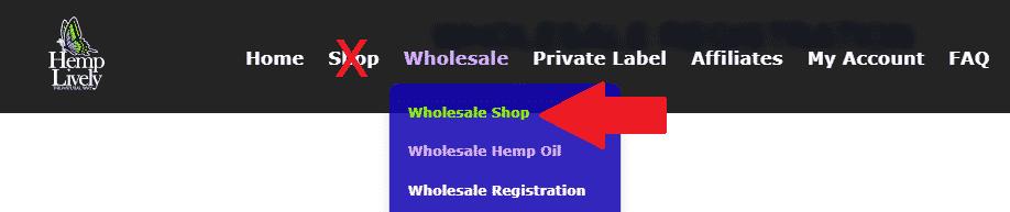 Wholesale Shop
