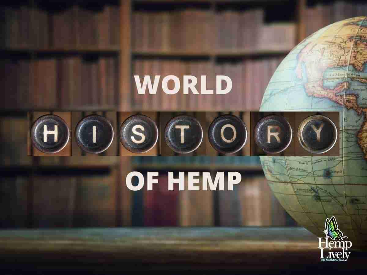 World History of Hemp Blog Image Social Media